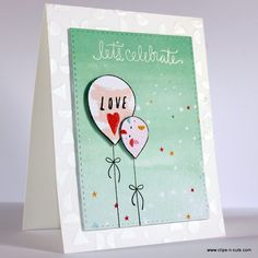 Created by Vicky using the September 2015 card kit by Simon Says Stamp