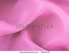 Abstract waved pink silk fabric texture