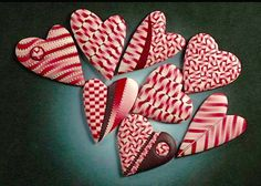 hearts were made by Ron Lehocky