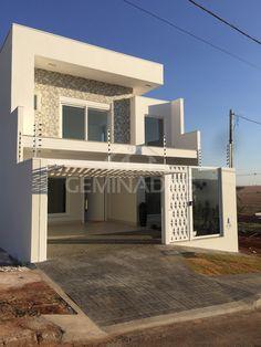 Home Building Design, Home Room Design, Home Design Plans, Building A House, House Structure Design, House Design, Modern Brick House, House Construction Plan, Duplex Design