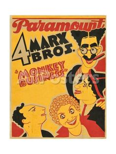 Monkey Business, 1931, Directed by Norman Z. Mcleod Movies Giclee Print - 46 x 61 cm