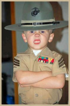 Marines have got to see this... OH CHRIST THIS IS LITTLE DAMIAN CHAPA'S MINI-ME TO THE T AND EARS.