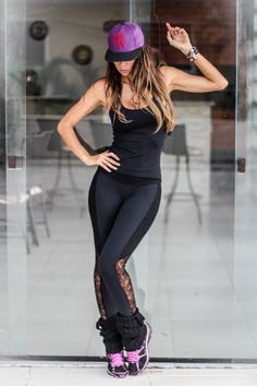 Ótima opção para a zumba - Malhar Look Outfit Workout Style