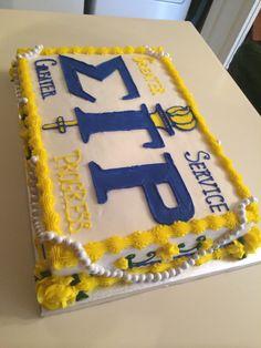 Sigma Gamma Rho cake