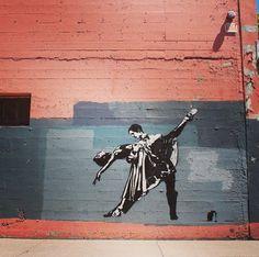 Blek le Rat in Eugene, Oregon, USA, 2017 Blek Le Rat, Oregon Usa, Eugene Oregon, Street Art Graffiti, Rats, Wander