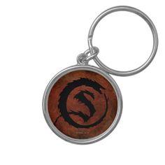 Smaug Logo Keychain