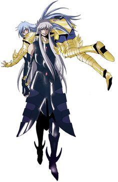 Saint Seiya - Gold Saint Pisces Albafica & Specter Griffon Minos - Lost Canvas