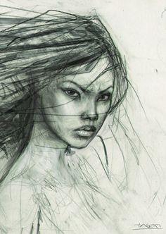 Nariko Face Sketch