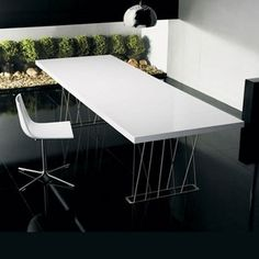 Modloft | Clarges Dining Table - modern - dining tables - YLiving.com