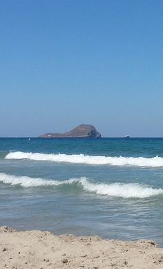 Isla Grosa, desde La Manga del Mar Menor