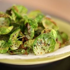 Baked Lemon Pepper Sprout Chips