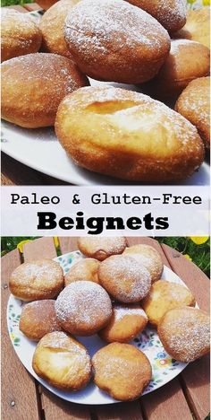 Beignet or Healthy Gluten-Free Recipe for Donuts! This Paleo beignet is a twist on a classic uses much healthier ingredients, and it's even gluten-free.This Paleo beignet is a twist on a classic uses much healthier ingredients, and it's even gluten-free. Paleo Sweets, Gluten Free Sweets, Healthy Gluten Free Recipes, Gluten Free Breakfasts, Foods With Gluten, Gluten Free Cooking, Paleo Dessert, Gluten Free Donuts, Gluten Free Beignet Recipe