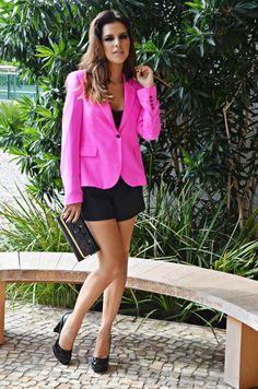 Mariana Rios blazer rosa