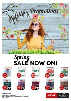 Midas Paints Tygervalley Spring Promotions Spring Sale Now on! Spring Sale, Facebook Sign Up, Promotion, Ui, How To Apply, Celebration