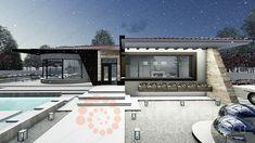 Casa parter 29 | Proiecte de case personalizate | Arhitect Gabriel Georgescu & Echipa Home Fashion, Mansions, House Styles, Home Decor, Houses, Decoration Home, Manor Houses, Room Decor, Villas