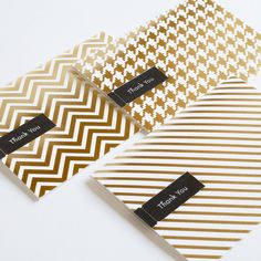 love the gold-also really like each one of these patterns.  I have ALWAYS been a huge fan of houndstooth.  Stripes are sweet too :)