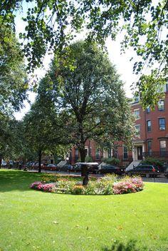 Union Park in Boston's South End neighborhood.