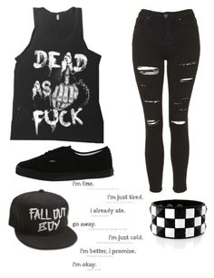 """""""Untitled #590"""" by bands-music on Polyvore featuring Topshop, Vans, women's clothing, women, female, woman, misses and juniors"""