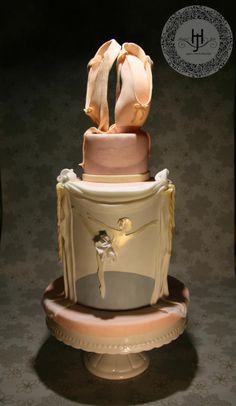 Ballet cake by Jennifer Holst  Sugar Cake & Chocolate