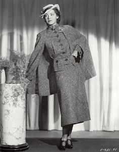Terrific vintage fashion from Fashion Designer Main Bocher