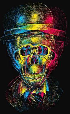 Baron Samedi Wall Plaque, pewter finish Arte Bob Marley, Skull Artwork, Skull Drawings, Psy Art, Skeleton Art, Skull And Bones, Dark Art, Love Art, Trippy