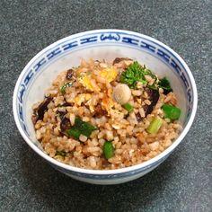 Fried Rice (炒飯, Caau2 Faan6)