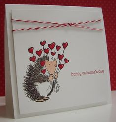 Happy Valentine's Day! by Loll Thompson - Cards and Paper Crafts at Splitcoaststampers