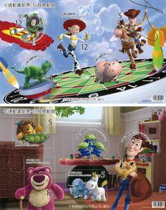 Taiwan 2012 Disney - Toy Story SS