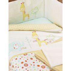 Lollipop Lane Tiddly Wink Safari 5 Piece Bedding Bale Cot Bed