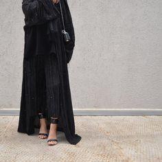 Black Abaya. #EsteeAudra