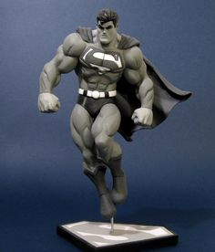 Easy Clay Sculptures : McGuiness Superman by davjames on deviantART - Dear Art Easy Clay Sculptures, Sculpture Clay, Comic Character, Character Concept, Arte Do Hulk, Comic Books Art, Comic Art, Old Superman, Batman