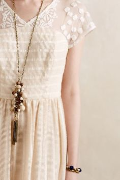 Poema Lace Dress - anthropologie.com #anthrofave
