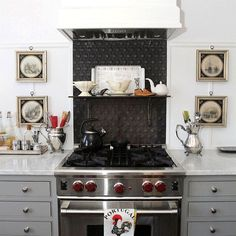 20 Timeless Kitchens You'll Love FOREVER! - beautiful gray and white kitchen by Nancy Keyes