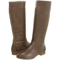 Frye Jillian Pull On Women's Zip Boots, Gray ($200) ❤ liked on Polyvore