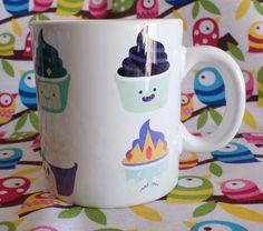 Cute 'Adventure Time' Cupcake Coffee Mug
