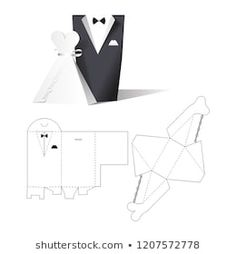 Find Wedding Clothes Wear Box Wedding Invitation stock images in HD and millions of other royalty-free stock photos, illustrations and vectors in the Shutterstock collection. Cardboard Box Crafts, Cool Paper Crafts, Diy Paper, Box Wedding Invitations, Wedding Gift Boxes, Paper Gift Box, Diy Gift Box, Paper Box Template, Eid Crafts