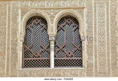 granada-andalucia-spain-the-alhambra-interior-wall-with-two-windows-fda6d5.jpg (640×440)