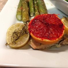 """Citrus Salmon in Parchment 