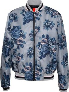 Msgm Floral-print Bomber Jacket - Birba's - Farfetch.com