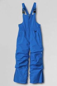 Boys' Waterproof Squall® Snow Bibs from Lands' End