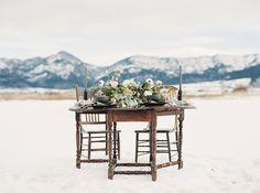 Elegant Montana Wedding Inspiration Photo By Simply Sarah Photography