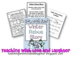 Freebielicious: Winter Rebus Story