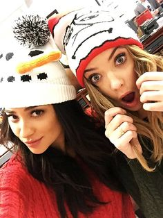 Shay Mitchell and Ashley Benson selfie! Doesn't Ashley look perfect here?? #ButtahBenzo