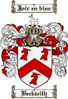 Beckwith Coat of Arms / Beckwith Family Crest