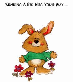 Sending a big hug your way... animated hugs hello friend comment good morning good day greeting beautiful day