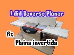 Making a Benchtop Jointer - Planya Tezgahı Yapımı - YouTube