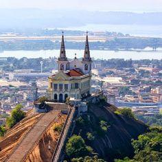 RIO de JANEIRO, BRASIL. Igreja Nossa Senhora da Penha de França ou, como é mais conhecida, Igreja da Penha. É considerada um tradicional santuário católico, que fica no bairro Penha, na Zona Norte do Rio (via Roberto Lemos).