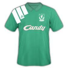 1991-92 Away Kit Liverpool Kit, Liverpool Football Club, Super Club, Mens Tops, Shirts, Dress Shirts, Shirt