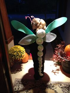 DIY Dragonfly Costume