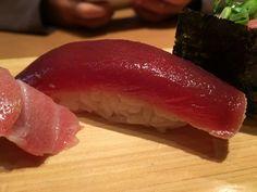 Tuna Sushi from Tsukiji Tamasushi in #tokyo #japan - #imenehunes #food #yum #delicious #tunasushi #tuna #sushi #tsukijitamasushi